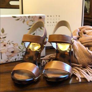 Michael Kors beautiful leather sandals size 8